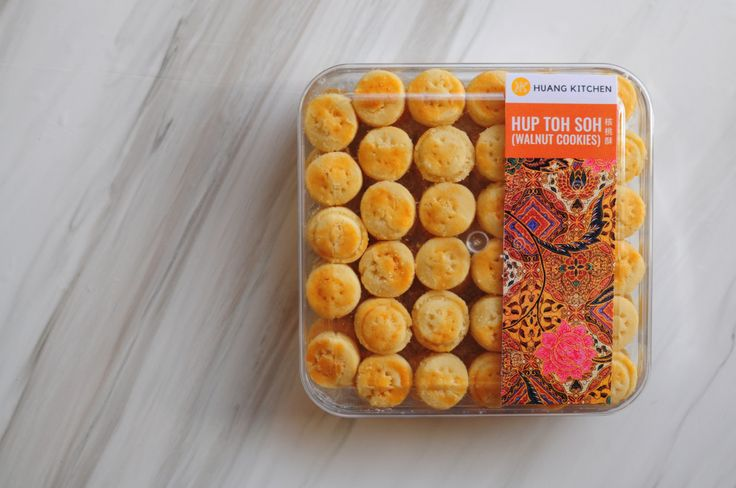 Walnut Cookies (Hup Toh Soh) - Regular Gift Box | Chinese New Year Cookies 2017 Preorder | RM18