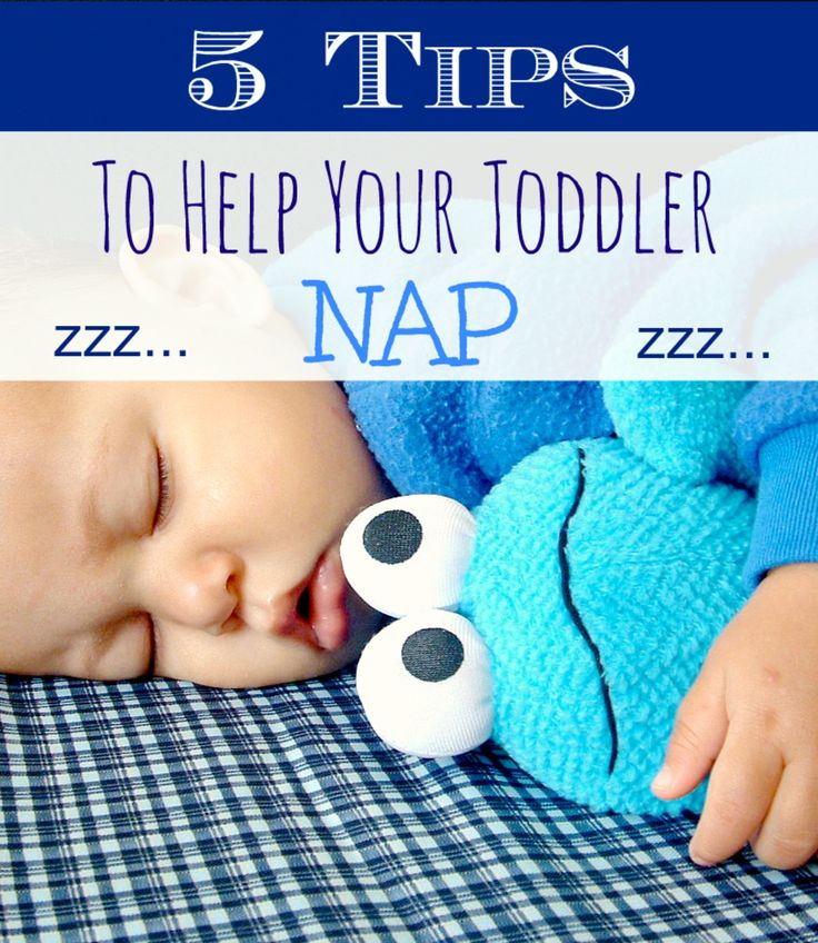 Is your toddler having trouble taking naps? Here are five quick, mom-to-mom tips to get your little one's daily zzz's in! Toddler sleep help.