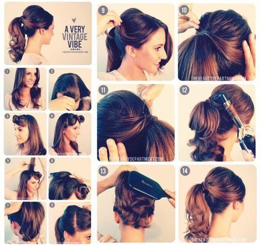 En mode tuto coiffure ! - Le blog de la rédaction beauté - Le blog de Rédaction Beauté - Be.com