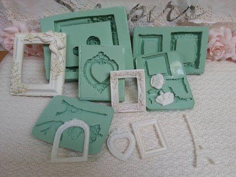 Tutorial Crea tus propios moldes de silicona para scrap - YouTube