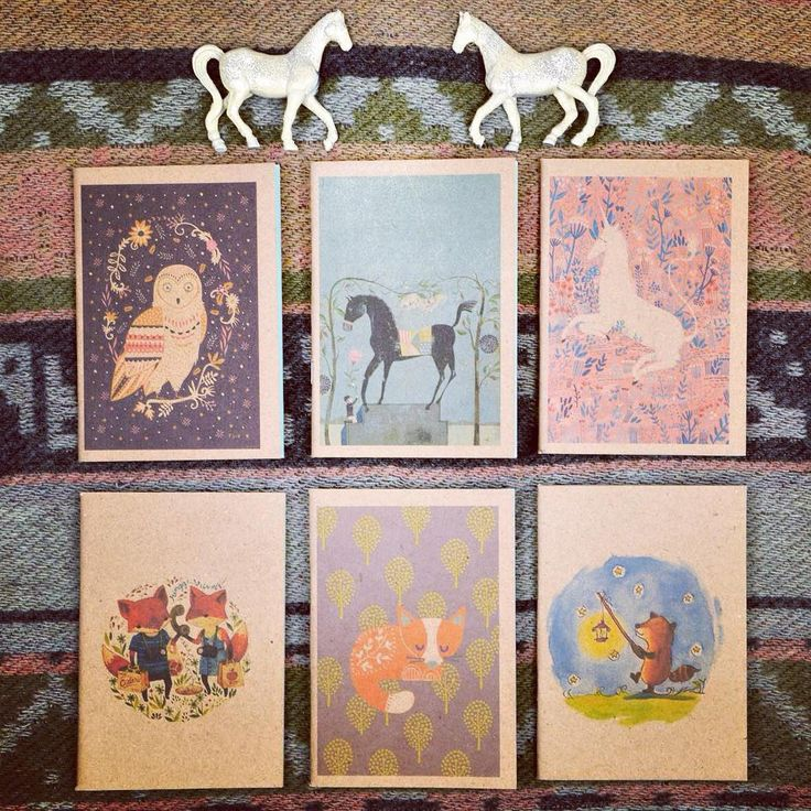 Fairy feeling  cute animal graphic booklet collection szputnyikshop unicorn notebook
