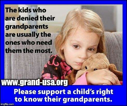 Grandparents are a safe place to go to talk and have someone listen!