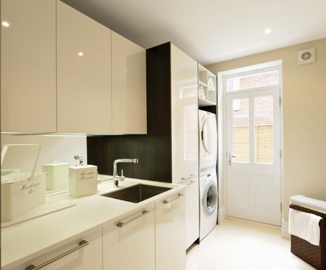 contrast laundry scullery pinterest