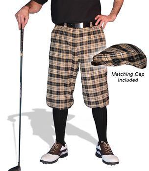Plaid Golf Knickers - Mens Bayou #GolfKnickers
