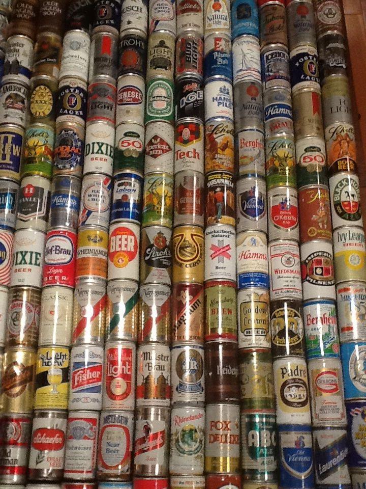 Dive Bar Man Cave : Best beer soda cans images on pinterest design