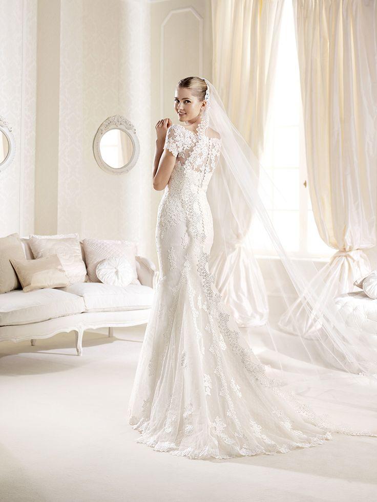 Simple La Sposa wedding dress Idde Xsasa bruidsmode