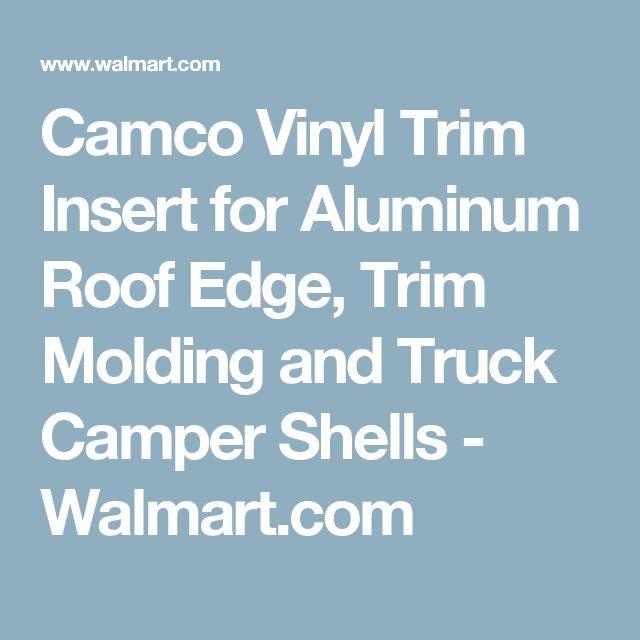 Camco Vinyl Trim Insert for Aluminum Roof Edge, Trim Molding and Truck Camper Shells - Walmart.com