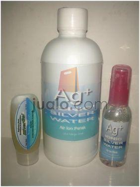 Ag 3IN1  Ionic Silver Gel  dan Ionic Silver Water Untuk Perawatan Kesehatan  Kecantikan Internal ataupun Eksternal  Paket Ag 3IN1 adalah Paket Kombinas