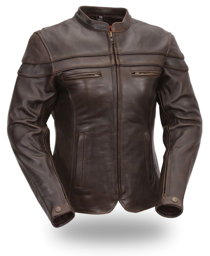 First gear leather jacket