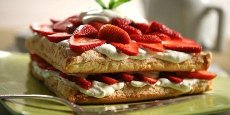 Strawberry Shortcake Torte