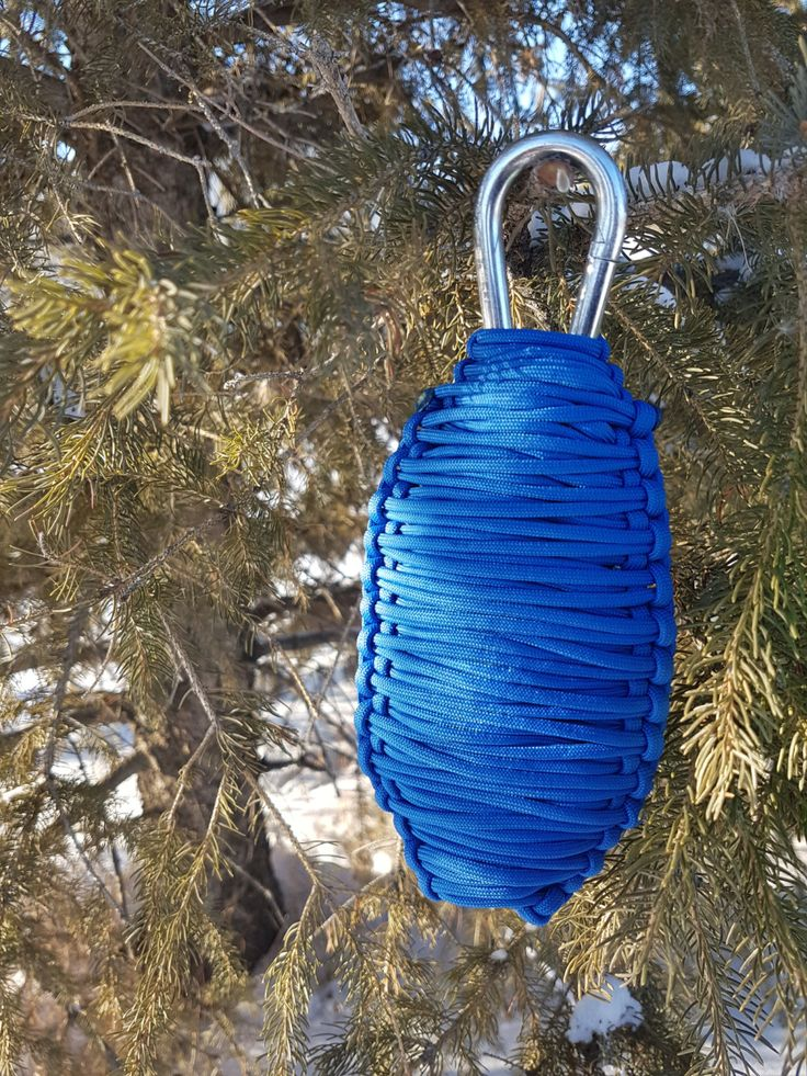 Paracord Emergency Survival Grenade Customizable Cobra Weave 550 Paracord Packs by BrodsParacord on Etsy