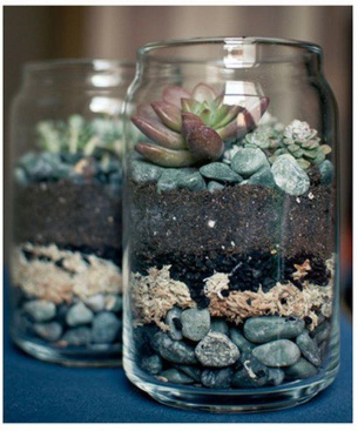 10 magnifiques façons de récupérer les pots de tous genres pour décorer la maison et le jardin! - Trucs et Bricolages