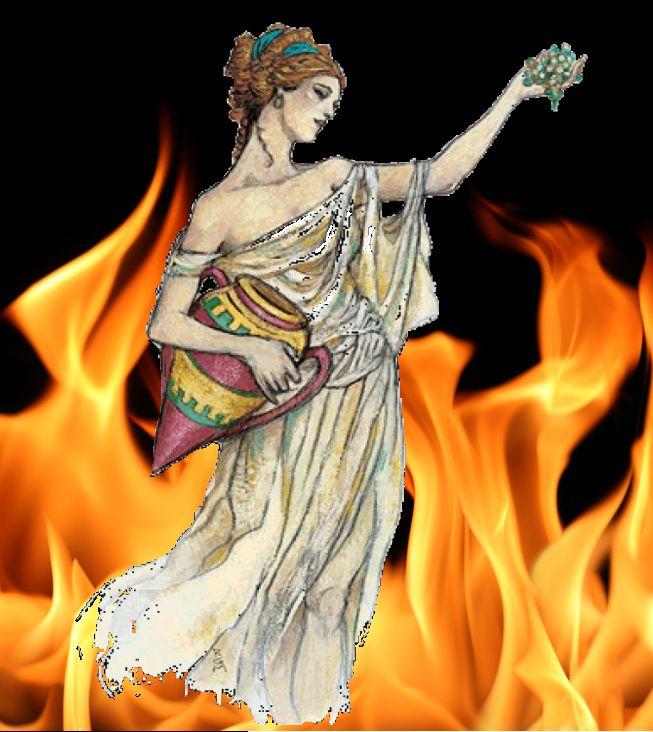 Three virgin goddesses of ancient greece