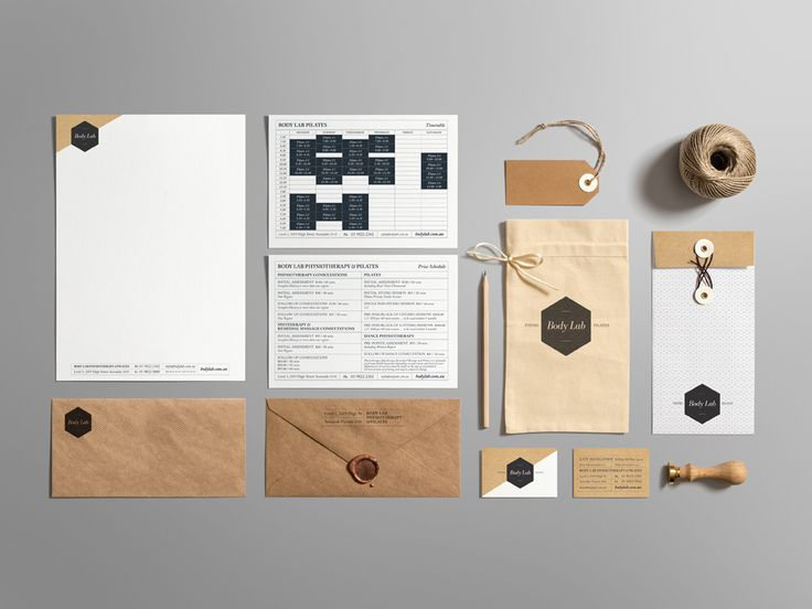 Body Lab _ Physio & Pilates Studio. Branding and Identity Design.