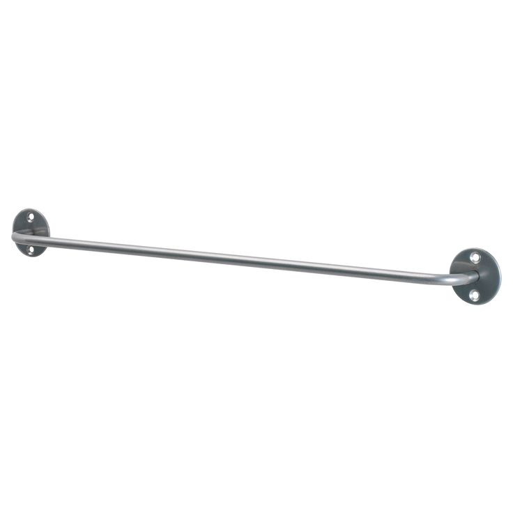 BYGEL  Rail, silver color  $2.99	  The price reflects selected options  Article Number:   500.726.45  Can also be used as a towel rail or a pot lid rack. Saves space on the countertop