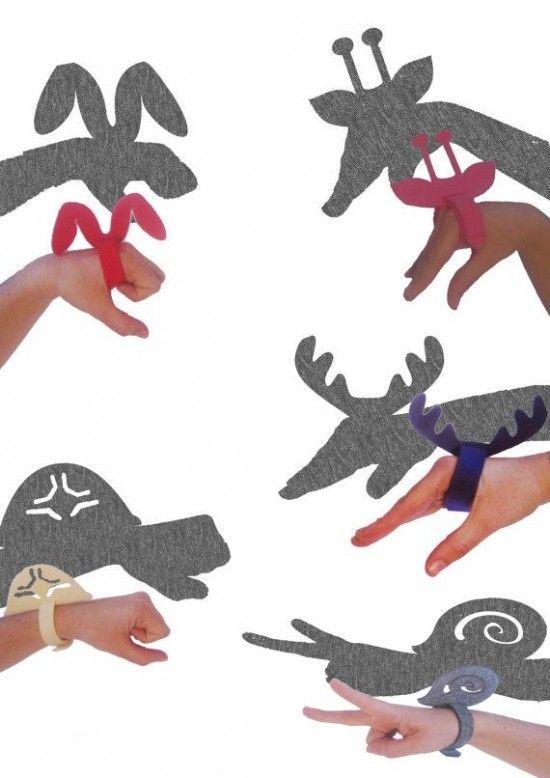 Shadow Puppet Bracelets