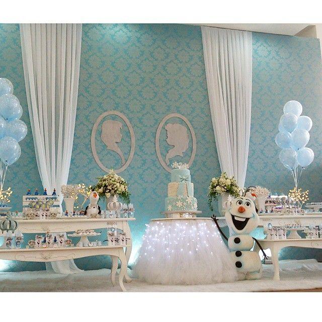 """""""Frozen para Lorena #festafrozen"""""""