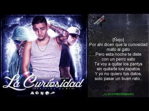 La Curiosidad (Remix) - Maluma Ft Nicky Jam & Ñejo (Video Letra) 2014 - YouTube