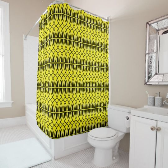 Art Deco Gatsby Design Shower Curtain Zazzle Com Art Deco Art