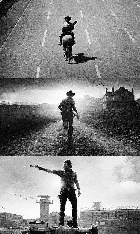 Andrew Lincoln as Rick Grimes from The Walking Dead - seasons 1, 2, 3