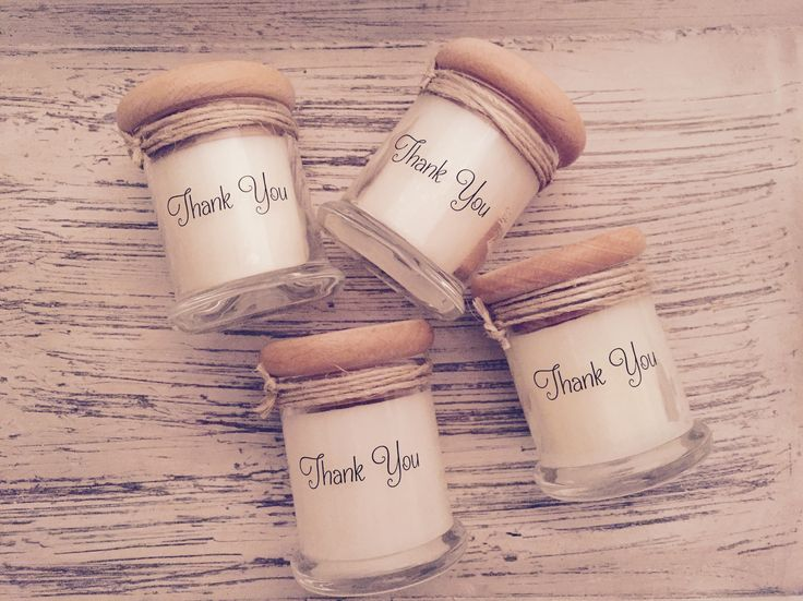 The Melting Jar small classic are the perfect thank you gift for your upcoming wedding, baby shower, Christening or corporate event. Personalise your gift with a custom label with your choice of wording. You can even have a name so it doubles as a place setting. The list is endless! ‪