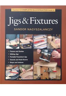 Triton Tools: Woodworking Book Review: Jigs and Fixtures A Taunton's complete illustrated Guide by Sandor Nagyszalanczy