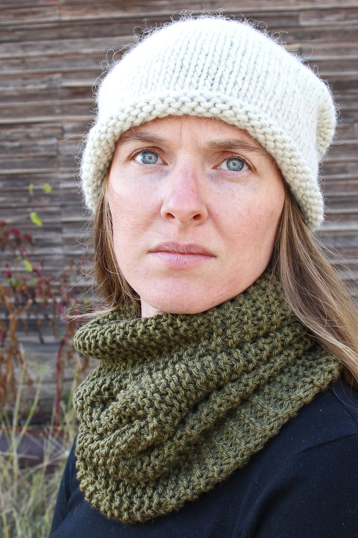 BENEVOLENCE - Hand Knit Cowl by Brome Fields