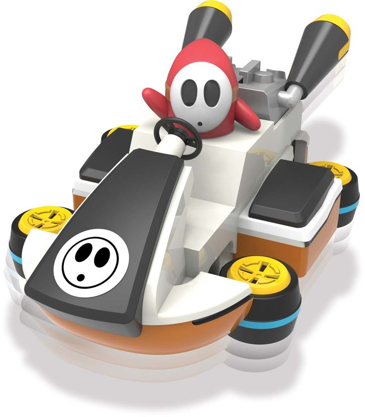 Shy guy kart building set