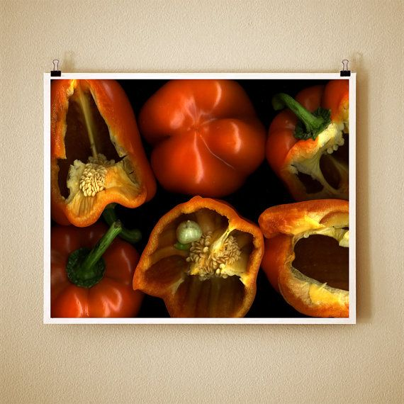 Bell peppers8X10 Signs, Signs Fine, Orange Peppers, Art Photographers, Belle Peppers, Bell Peppers, Peppers 8X10, Fine Art