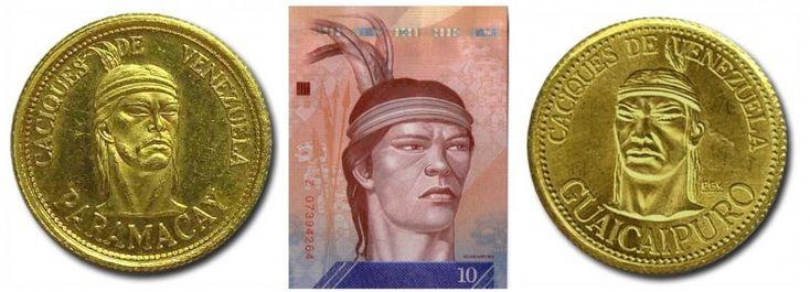 El Indio del billete de 10 Bolivares es Guaicaipuro o Paramacay?  Al parecer el Indio que se muestra en el nuevo billete de 10BsF no es el Indio Guaicaipuro sino el Indio Paramacay. La imagen de Guaicaipuro fue tomada por el BCV de la obra del artista venezolano Pedro Centeno Vallenilla. Se especula que el indio Paramacay fue confundido con Guaicaipuro. Académicos señalan que es una trivialidad discutir el tema. La imagen del indio Guaicaipuro que tomó el Banco Central de Venezuela para…