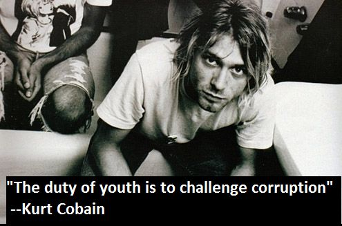 kurt cobain quotes.