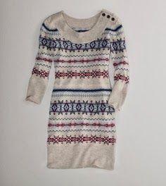 Hand work ladies long tribal design sweater fashion ever   Fashion World
