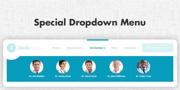 How to create a dropdown menu in WordPress that includes featured image