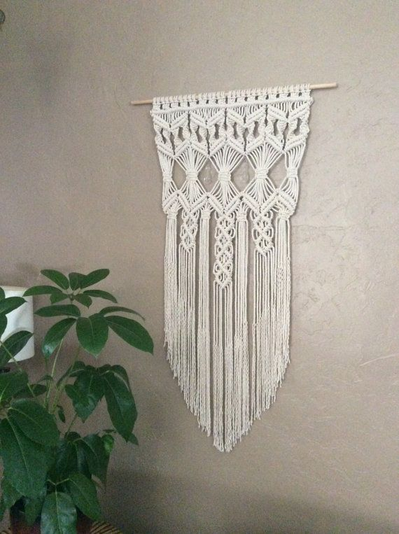 Home Decor Home Accessories House Decoration by MacrameElegance