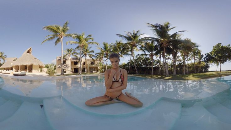 The Sports Illustrated Swimsuit issue is now in virtual reality. #vr #magazine