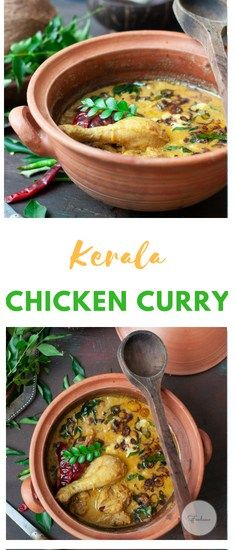 Nadan Kozhi Curry Kerala Chicken Curry Recipe Indian Food