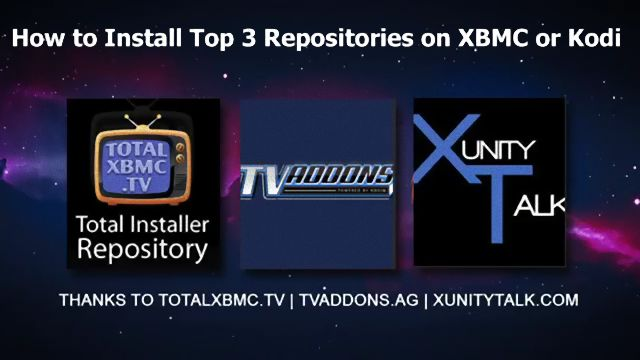 How to Install Top 3 Repositories On Kodi 2016 - Tutorial Iptv ,Kodi ,Android