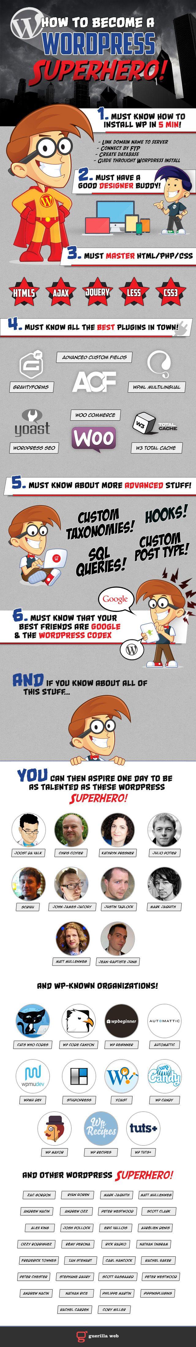 How To Become A Wordpress Superhero!