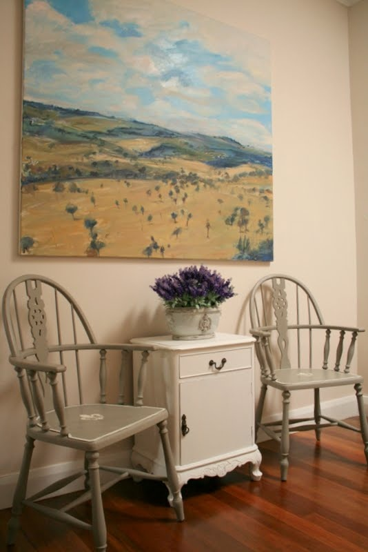 How to transform ugly Windsor Chairs to a French look