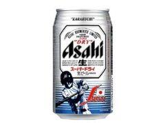 アサヒ アサヒスーパードライ『野球日本代表応援缶』 缶350ml
