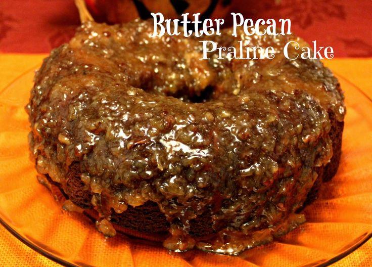 Sweet Tea and Cornbread: Butter Pecan Praline Cake!