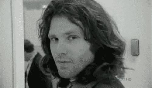 jim morrison and the wolves | TGI Friday Open Thread: All My Teen Heartthrobs Looked Like Lady Boys
