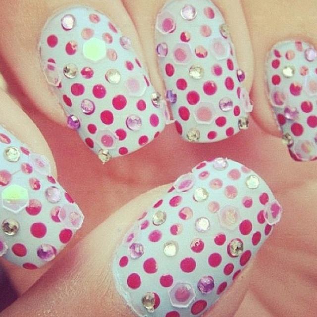 Candy Polka Dots; World Famous Nail Artist.