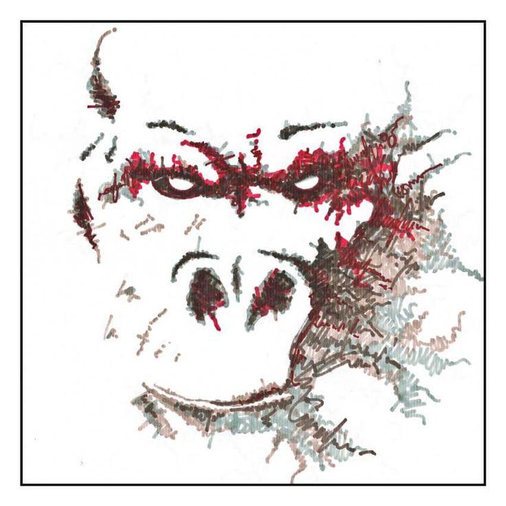 Le singe rouge - Louis Vairel