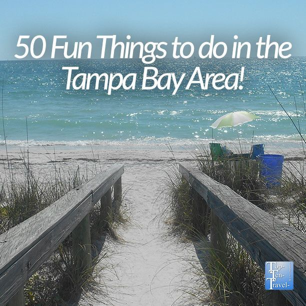 50 fun things to do in the #Tampa area - beaches, bike trails, hikes, nature preserves, and much more! #Florida