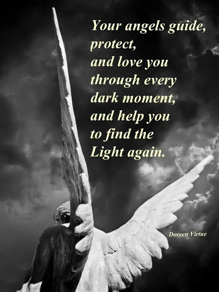 Angels, Doreen Virtue from Cheryl Dejournette -  I have found this to be #completely true.-Abigail at www.readingswithabigail.com