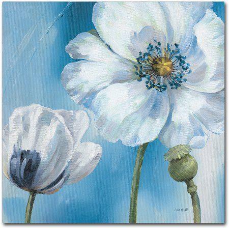 "Trademark Fine Art ""Blue Dance III"" Canvas Art by Lisa Audit"