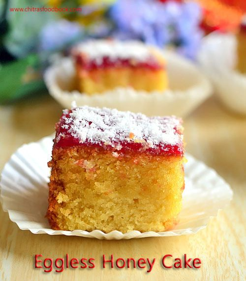 how to make eggless cake soft and spongy