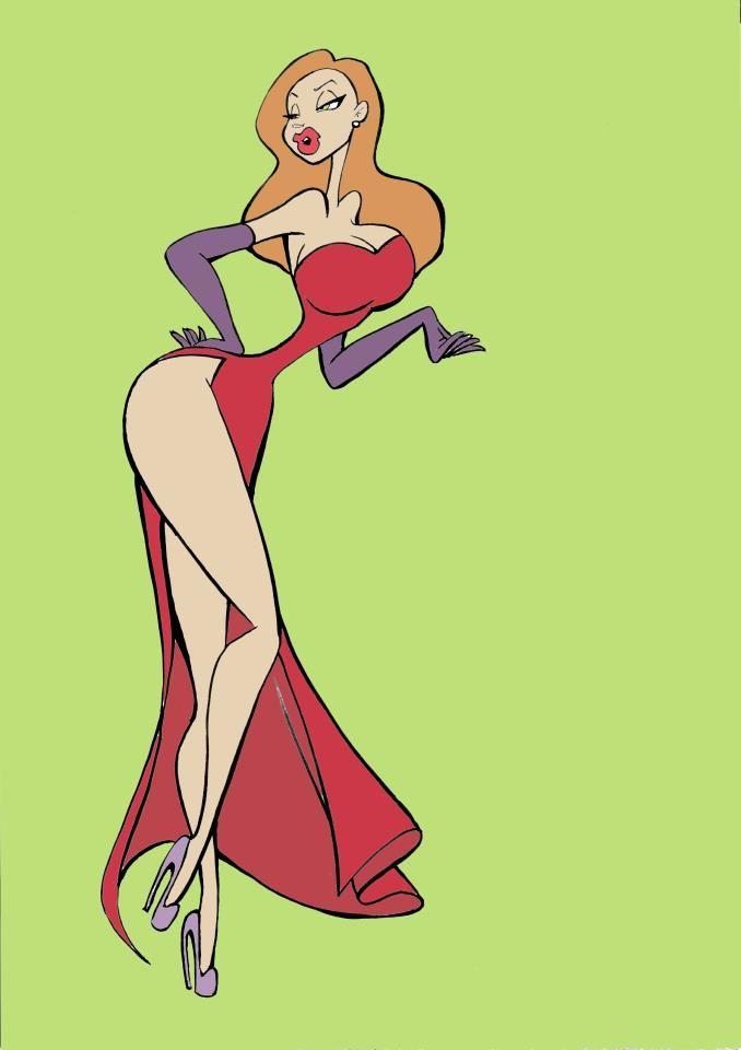 Cartoon Characters Jessica Rabbit : Best jessica rabbit mrs images on pinterest books