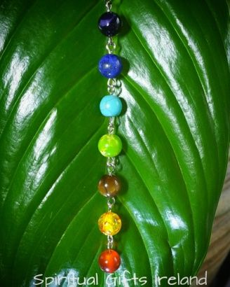Visit our store at www.spiritualgiftsireland.com  Follow Spiritual Gifts Ireland on www.facebook.com/spiritualgiftsireland www.instagram.com/spiritualgiftsireland www.etsy.com/shop/spiritualgiftireland We are also featured on Tumblr  Jewellery gives that necessary finishing touch to our looks and boosts our good mood as well as self-esteem.  Our stunning Handmade Y Shaped Chakra Pendant is the perfect way to show off your love of Chakras in a fun and very fashionable way.  Wearing chakra…